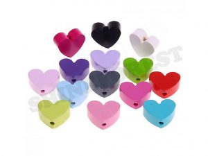 mini hearts for pacifier clip making
