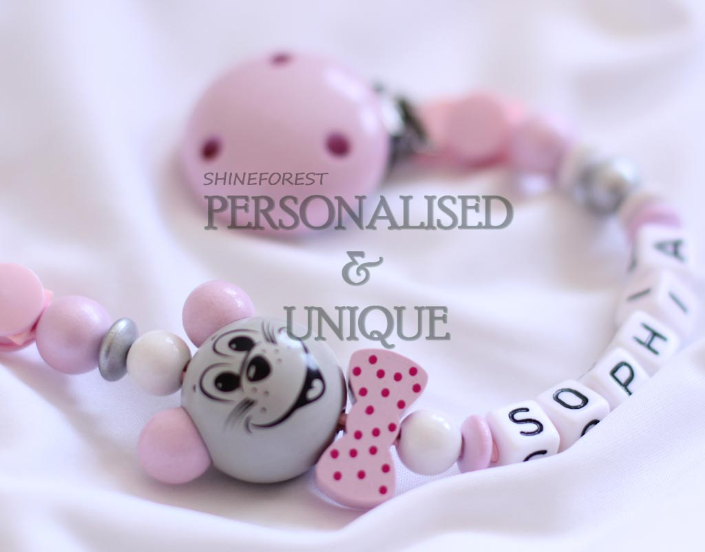 Pacifier-chain-3D-pink-mouse-1