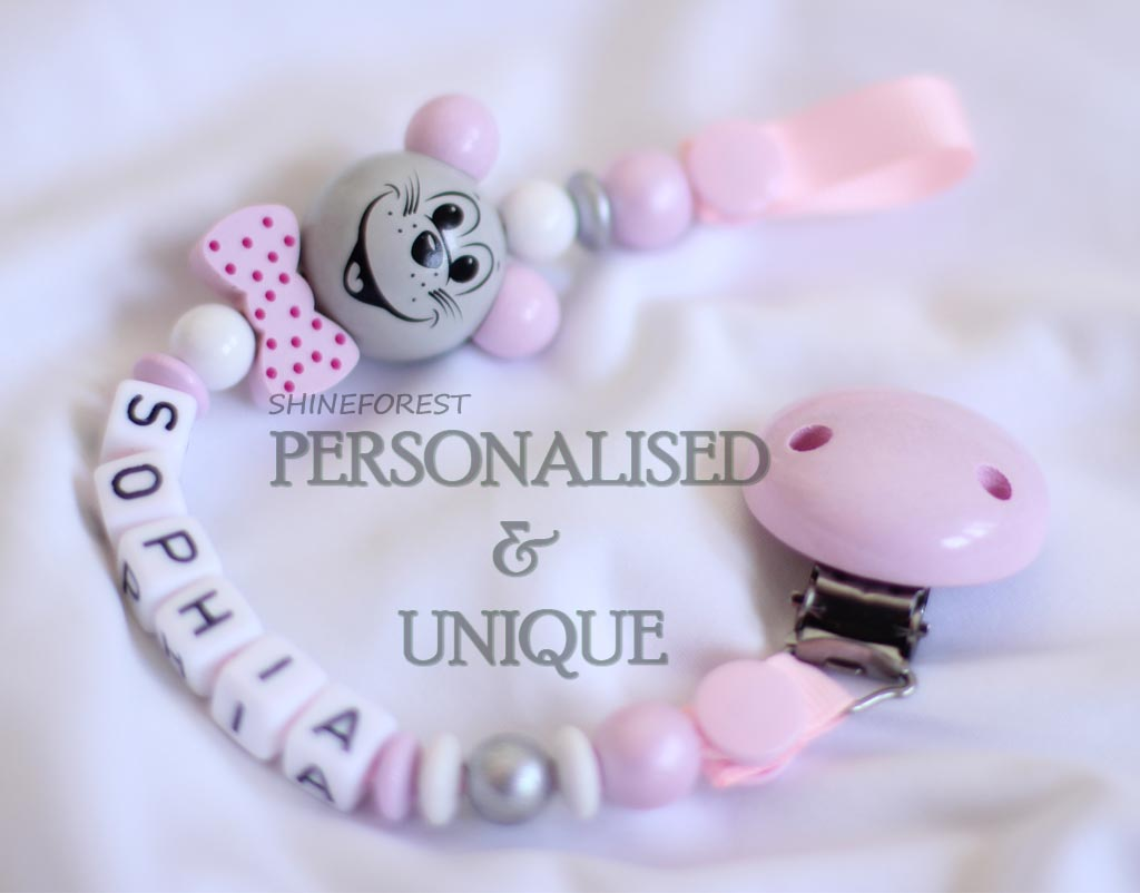 Pacifier-chain-3D-pink-mouse-2
