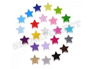 stars bead for dummy clip making