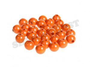 wooden beads 10mm mandarin