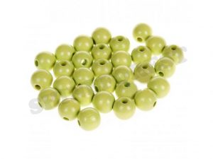 wooden beads 8mm lemon