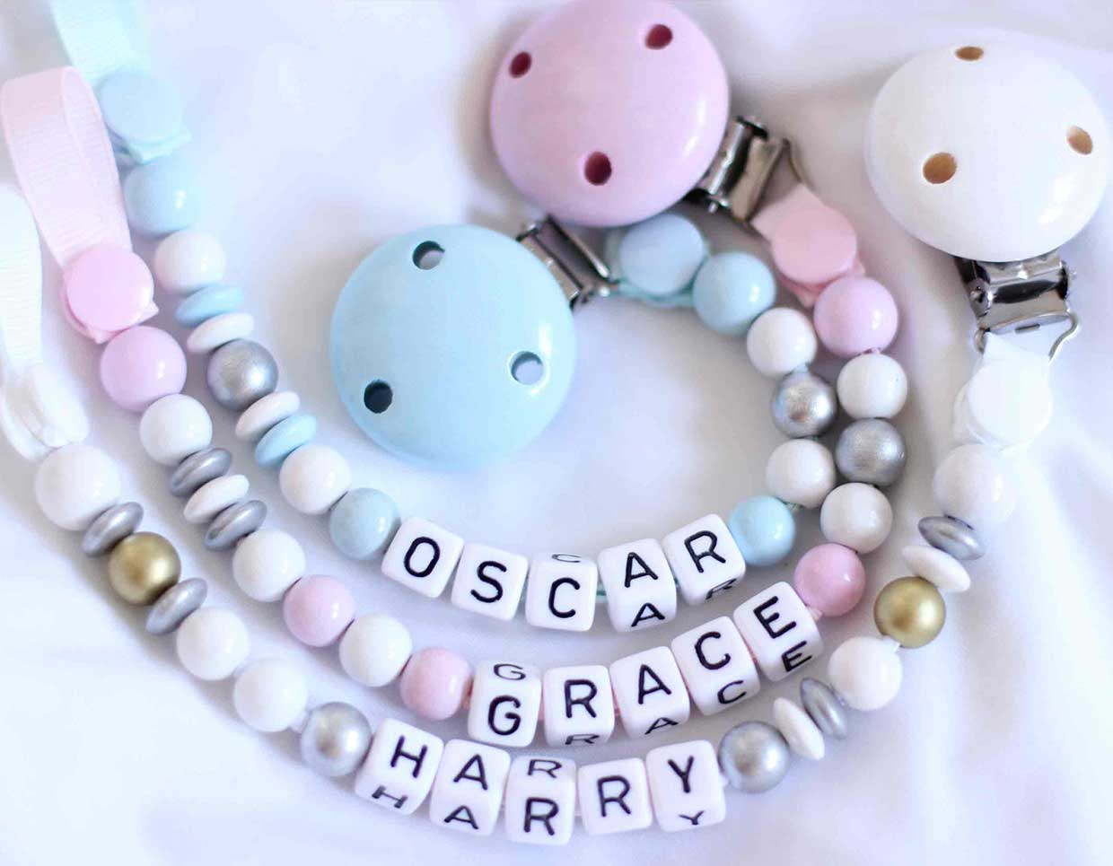 baby pacifier chains