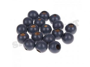 safety beads 12mm grey